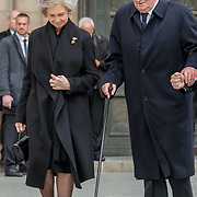 LUX/Luxemburg/20190504 -  Funeral<br /> of HRH Grand Duke Jean, Uitvaart Groothertog Jean, KonIngin Sofia en Koning Juan Carlos van Spanje