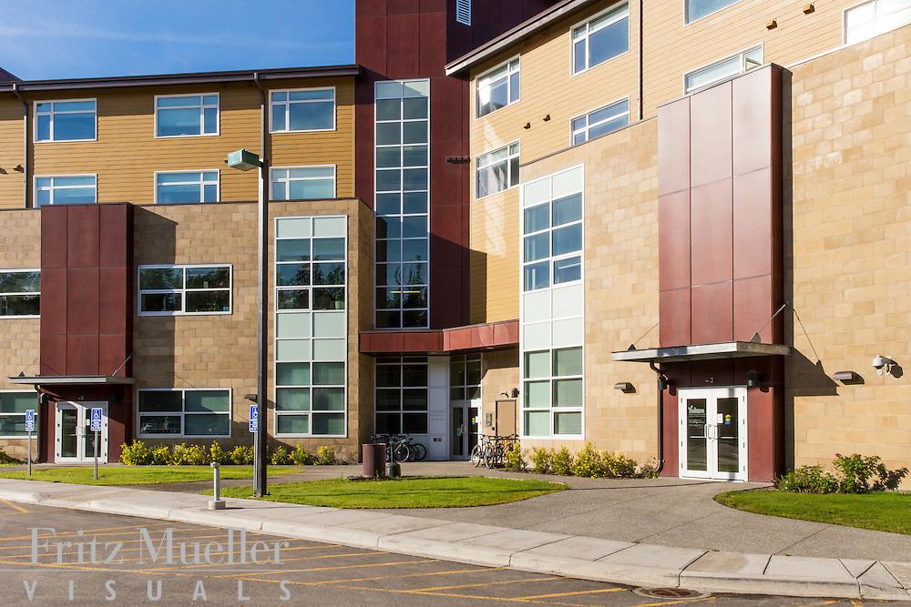 Crocus Ridge, Whitehorse Hospital Staff Residence and Medical Facility, Whitehorse, Yukon, KMBR Architects
