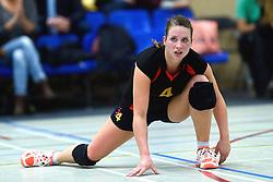 12-12-2015 NED: Prima Donna Kaas Huizen - VV Utrecht, Huizen<br /> In de Topdivisie verslaat PDK Huizen vv Utrecht met 3-1 / Tessa Meijer #4