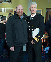 free pic no repro fee     GMC20012017 <br /> Paschal Horgan Horgans Shipping and Tim O'Keeffe Irish Coast Guard  Pictured at the Port of Cork, for the launch of Meitheal Mara's ambitious plans for the realisation  of an integrated maritime hub for Cork City. www.meithealmara.ie<br /> Images By Gerard McCarthy 087 8537228 <br /> For more info contact  Joya Kuin  0857770969  joyakuin@gmail.com