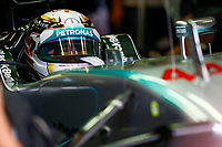 HAMILTON Lewis (Gbr) Mercedes Gp Mgp W05 Portrait  during the 2014 Formula One World Championship, Italy Grand Prix from September 5th to 7th 2014 in Monza, Italy. Photo Florent Gooden / DPPI