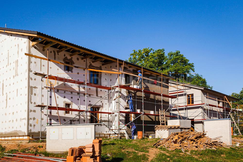 19-09-2015: Golf & Spa Resort Konopiste in Benesov, Tsjechië.<br /> Foto: 400 nieuwe kamers in aanbouw