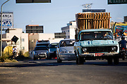 Belo Horizonte_MG, Brasil...Transito no bairro Goiania em Belo Horizonte...The traffic in the Goiania neighborhood in Belo Horizonte...Foto: JOAO MARCOS ROSA /  NITRO