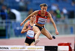 May 31, 2018 - Rome, Italy - Ophelie Claude-Boxberger (FRA) competes in 3000m Steeplechase women during Golden Gala Iaaf Diamond League Rome 2018 at Olimpico Stadium in Rome, Italy on May 31, 2018. (Credit Image: © Matteo Ciambelli/NurPhoto via ZUMA Press)