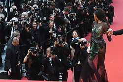 May 22, 2019 - Cannes, France - 72eme Festival International du Film de Cannes. Montée des marches du film ''Roubaix, une lumiere (Oh Mercy!)''. 72th International Cannes Film Festival. Red Carpet for ''Roubaix, une lumiere (Oh Merci!)'' movie.....239727 2019-05-22  Cannes France.. Winnie, Harlow, Brown-Young, Chantelle (Credit Image: © Serge Arnal/Starface via ZUMA Press)