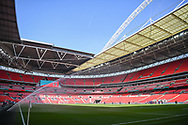 Wembley Stadium ahead of the FA Vase match between Stockton Town and Thatcham Town at Wembley Stadium, London, England on 20 May 2018. Picture by Stephen Wright.