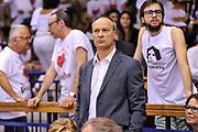 DESCRIZIONE : Campionato 2014/15 Serie A Beko Grissin Bon Reggio Emilia - Dinamo Banco di Sardegna Sassari Finale Playoff Gara7 Scudetto<br /> GIOCATORE : Federico Mangiacotti<br /> CATEGORIA : Ritratto Tifosi Pubblico Spettatori VIP<br /> SQUADRA : BEKO<br /> EVENTO : LegaBasket Serie A Beko 2014/2015<br /> GARA : Grissin Bon Reggio Emilia - Dinamo Banco di Sardegna Sassari Finale Playoff Gara7 Scudetto<br /> DATA : 26/06/2015<br /> SPORT : Pallacanestro <br /> AUTORE : Agenzia Ciamillo-Castoria/L.Canu