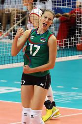 Azerbaijan Polina Rahimova celebrates
