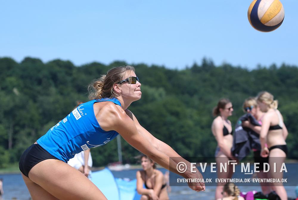 Unser Norden Beach Tour tournament at Strandbad Wassersleben in Harrislee, near Flensburg, Germany, organised by the volleyball federation of Schleswig-Holstein (SHVV) on 02.06.2018. Photo Credit: Allan Jensen/EVENTMEDIA.