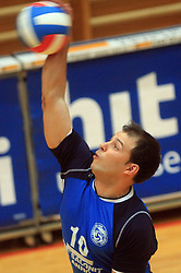 Nikola Vidic at finals of Slovenian volleyball cup between OK ACH Volley and OK Salonit Anhovo Kanal, on December 27, 2008, in Nova Gorica, Slovenia. ACH Volley won 3:2.(Photo by Vid Ponikvar / SportIda).
