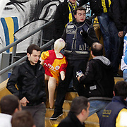 Fenerbahce's and Galatasaray's during their Turkish superleague soccer derby match Fenerbahce between Galatasaray at Sukru Saracaoglu stadium in Istanbul Turkey on Saturday 17 March 2012. Photo by TURKPIX