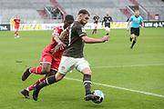 Fussball: 2. Bundesliga, FC St. Pauli - Fortuna Düsseldorf 0:3, Hamburg, 20.12.2020<br /> Maximilian Dittgen (Pauli)<br /> © Torsten Helmke