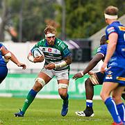 Treviso, Italy, 25/09/2021 Stadio di Monigo<br /> United Rugby Championship Benetton Vs Stormers<br /> Niccolo Cannone