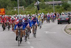 Matej Gnezda (SLO) of Adria Mobil at 3rd stage of Tour de Slovenie 2009 from Lenart to Krvavec, 175 km, on June 20 2009, Slovenia. (Photo by Vid Ponikvar / Sportida)