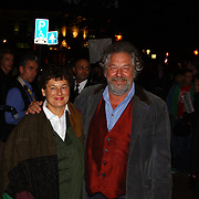 Opening Utrechts Filmfestival 2003, premiere Phileine zegt sorry, Chiem van Houweningen en vrouw Marina de Vos