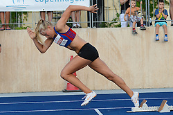 Copenhagen Athletics Games 2014 at Østerbro Stadium in Copenhagen on August 6, 2014.