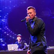 NLD/Amsterdam/20130211- Uitreiking Edison Pop 2013, Gers Pardoel en broer Robbie Pardoel