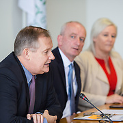 14.11.2016          <br /> Major winter safety and wellbeing campaign launched by Limericks Public Services.<br /> <br /> Pictured at the launch were, Conn Murray, CEO Limerick City and County Council, Bernard Gloster, Chief Officer HSE Midwest and Colette Cowan, CEO UHL. <br /> <br /> Limerick City and County Council, the HSE and An Garda Siochana working together. Picture: Alan Place