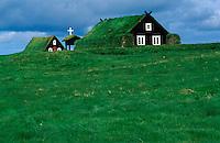 Islande - Reykjavik - Musée des maisons traditionnelles
