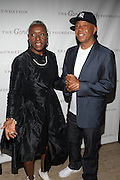 l to r: Russell Simmons and BethAnn Hardison at ' The Celebrating Fashion ' A Gala Benefit to support the Gordon Parks Foundation held at Gotham Hall on June 2, 2009 in New York City. ..The Gordon Parks Foundation-- created to preserve the work of groundbreaking African American Photographer and honor others who have dedicated their lives to the Arts--presents the Gordon Parks Award to four Artists who embody the principals Parks championed in his life.