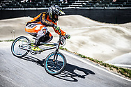 #382 (DIAZ SERNA Juan Carlos) COL during practice at Round 5 of the 2018 UCI BMX Superscross World Cup in Zolder, Belgium