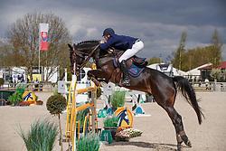 Hazebroek Mathias, BEL, Jurre<br /> Grand Prix CSI -Juniors Azelhof - Lier 2017<br /> © Hippo Foto - Dirk Caremans<br /> 16/04/17