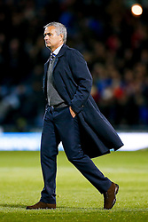 Manager Jose Mourinho of Chelsea leaves the pitch after Chelsea win 1-3 - Photo mandatory by-line: Rogan Thomson/JMP - 07966 386802 - 18/08/2014 - SPORT - FOOTBALL - Burnley, England - Turf Moor Stadium - Burnley v Chelsea - Barclays Premier League.