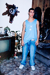 19 Jan,2006. Collect photograph.  Eminem's half brother, 14 years his junior. Marshall Bruce Mathers III's half brother Nathan Mathers.<br /> Photo Credit: Kresin via  www.varleypix.com