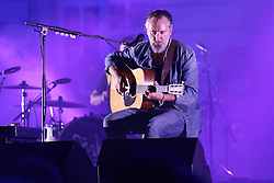 British guitarist and singer Fink (Fin Greenall) performs live during 'Palais en Jazz' Festival in the courtyard of Palais Imperial, on June 30, 2018 in Compiegne, France. Photo by Edouard Bernaux/ABACAPRESS.COM