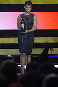 October 13, 2012- Bronx, NY: Recording Artist Alicia Keys at the Black Girls Rock! Awards presented by BET Networks and sponsored by Chevy held at the Paradise Theater on October 13, 2012 in the Bronx, New York. BLACK GIRLS ROCK! Inc. is 501(c)3 non-profit youth empowerment and mentoring organization founded by DJ Beverly Bond, established to promote the arts for young women of color, as well as to encourage dialogue and analysis of the ways women of color are portrayed in the media. (Terrence Jennings)