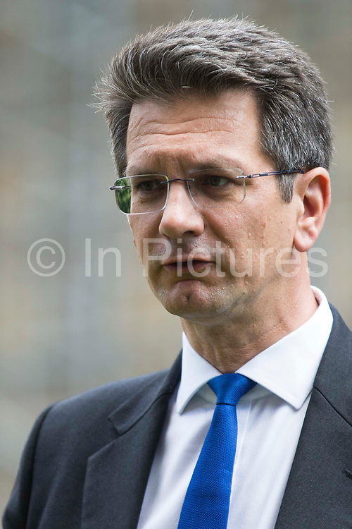Steve Baker, Conservative MP for Wycombe, shows support to several hundred representatives of the UKs travel industry gathered outside the Houses of Parliament during a day of action intended to apply pressure on the government to reopen the travel sector and to give financial support to travel businesses on 23rd June 2021 in London, United Kingdom. Pilots, cabin crew and travel agents accused the government of failing to restart travel by undermining its Covid-19 traffic light system, which currently does not include viable major tourist destinations on the quarantine-free green list.