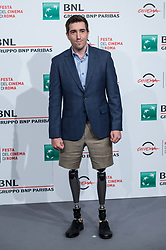 October 28, 2017 - Rome, Italy - Jeff Bauman attends photocall for 'Stronger' during the 12th Rome Cine Fest at Auditorium Parco Della Musica in Rome, Italy on 28 October 2017. (Credit Image: © Giuseppe Maffia/NurPhoto via ZUMA Press)