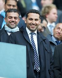 MANCHESTER, ENGLAND - Monday, April 30, 2012: Manchester City' chairman Khaldoon Al-Mubarek during the Premiership match at the City of Manchester Stadium. (Pic by Chris Brunskill/Propaganda)