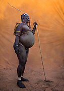 BODI TRIBE FAT MEN<br /> (very) big is beautiful<br /> <br /> Every  year,  takes  place  in the deep south of Ethiopia, in  the <br /> remote  area of Omo valley, the celebration of  the  Bodi  tribe  new <br /> year: the Kael.For  6  months  the  men  from  the tribe will   feed   themselves with only fresh  milk  and  blood  from <br /> the cows. They will not  be allowed to  have sex and to go out of their  little hut.  Everybody will take care of  them, the  girls  bringing  milk  every morning in pots or bamboos. The  winner  is  the  bigger.  He  just <br /> wins fame, nothing special. This  area does not  welcome tourists and has kept his traditions<br /> <br /> Photo shows: Some fat men are so big that they cannot walk  anymore... This one asked me to use my car to go on the ceremony area.<br /> Once in the 4 wheels, he started to drink again 2  liters  of  milk. To  be the fatest  until the  last minute, he told me...<br /> ©Eric lafforgue/Exclusivepix Media