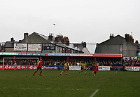 Photo: Rich Eaton.<br /> <br /> Tamworth FC v Norwich City. The FA Cup. 06/01/2007. The teams play out the game in the Lamb home of Tamworth