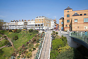 Steps to Royal Terrace with cliff garden, Southend, Essex