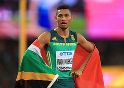South Africa's Wayde Van Niekerk wins the Men's 400m Final during day five of the 2017 IAAF World Championships at the London Stadium.