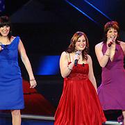 NLD/Hilversum/20061230 - 1e Live uitzending X-Factor 2006, deelnemers Groovin' sound