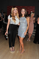 Left to right, ZARA MARTIN and MARIA HATZISTEFANIS at the 2012 Rodial Beautiful Awards held at The Sanderson Hotel, Berners Street, London on 6th March 2012.