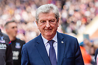 LONDON, ENGLAND - APRIL 14: Roy Hodgson manager of Crystal Place  during the Premier League match between Crystal Palace and Brighton and Hove Albion at Selhurst Park on April 14, 2018 in London, England. (Photo by MB Media/Getty Images)