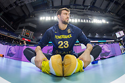 March 2, 2018 - Madrid, Madrid, Spain - Marko Guduric during Fenerbahce Dogus Istanbul victory over Real Madrid (83 - 86) in Turkish Airlines Euroleague regular season game (round 24) celebrated at Wizink Center in Madrid (Spain). March 2nd 2018. (Credit Image: © Juan Carlos Garcia Mate/Pacific Press via ZUMA Wire)