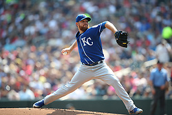 September 3, 2017 - Minneapolis, MN, USA - Kansas City Royals starting pitcher Ian Kennedy (31) throws a pitch in the first inning against the Minnesota Twins on Sunday, Sept. 3, 2017 at Target Field in Minneapolis, Minn. (Credit Image: © Jerry Holt/TNS via ZUMA Wire)