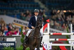 Morgan Red, GBR, Bodyssee Des Avelines<br /> Stuttgart - German Masters 2018<br /> © Hippo Foto - Stefan Lafrentz
