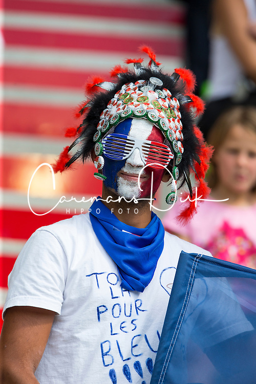 Supporter, (FRA) - First Round Team Competition Jumping Speed - Alltech FEI World Equestrian Games™ 2014 - Normandy, France.<br /> © Hippo Foto Team - Leanjo De Koster<br /> 03-09-14
