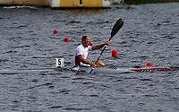 Kajakk<br /> EM 2005 <br /> Poznan 30.07.2005<br /> Foto: Wrofoto/Digitalsport<br /> NORWAY ONLY<br /> <br /> RACE K1 1000 MEN - WINNER / GOLD MEDAL / ERIK VERÅS LARSEN