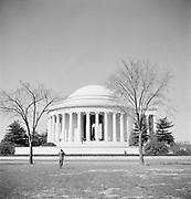 9969-D15. Jefferson Memorial,  Washington, DC, March 24-April 1, 1957
