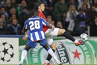 20090415: PORTO, PORTUGAL - FC Porto vs Manchester United: Champions League 2008/2009 Ð Quarter Finals Ð 2nd leg. In picture: Cristiano Ronaldo and Cissokho. PHOTO: Ricardo Estudante/CITYFILES