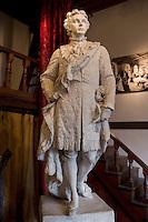 King Ludwig II of Barvaria Sculpture at Elizabet Ney Museum, Austin, Texas.