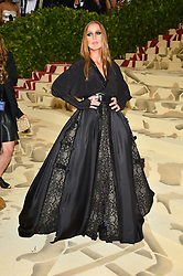 Allegra Versace attending the Costume Institute Benefit at The Metropolitan Museum of Art celebrating the opening of Heavenly Bodies: Fashion and the Catholic Imagination. The Metropolitan Museum of Art, New York City, New York, May 7, 2018. Photo by Lionel Hahn/ABACAPRESS.COM