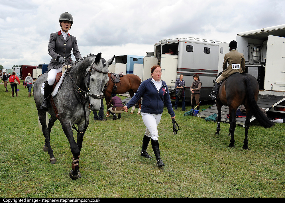 © under license to London News Pictures. LONDON, UK  11/05/2011. The first day of The Royal Windsor Horse Show in the private grounds of Windsor Castle today (11 May 2011). Photo credit should read Stephen Simpson/LNP.